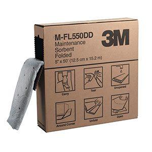 3M™ Maintenance Sorbent Folded M-FL550DD