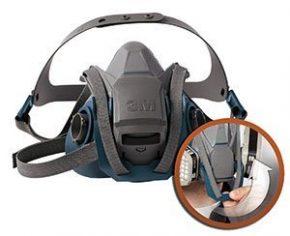 3M™ Rugged Comfort Half Facepiece Reusable Respirators