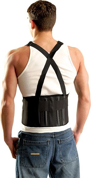 The Mustang® Back Support with Suspenders
