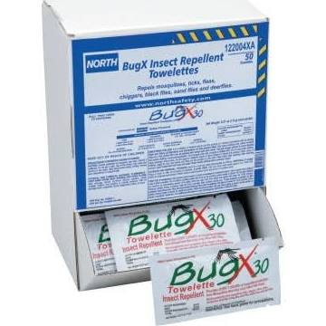 Honeywell - First Aid - BugX® 30 Towelettes