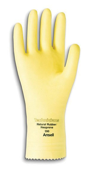 Technicians 88-390 Natural Rubber Latex Gloves