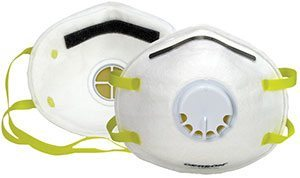 Low-Profile N95 Respirator with Exhalation Valve