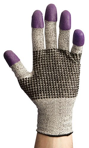 Jackson Safety* G60 Purple Nitrile* Level 3 Cut Resistant Gloves