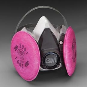 3M™ Half Facepiece Respirator Assemblies