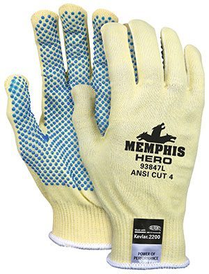 Memphis Hero™ Gloves with PVC Dots