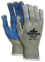 Memphis Hero™ Gloves with PVC Stripes