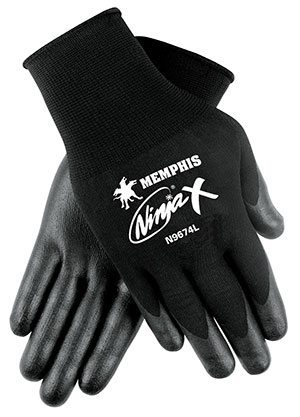 Ninja® X Bi-Polymer Coated Gloves