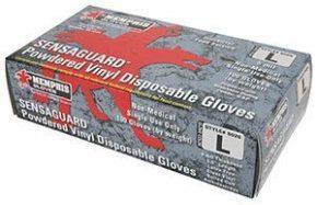 Sensaguard™ Vinyl Disposable Gloves