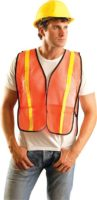 Non-ANSI Value Vest with Gloss Tape