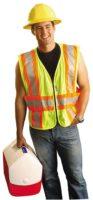 Class 2 Premium Expandable Two-Tone Mesh Vest