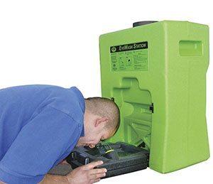 Portable Low-Profile Eyewash Station