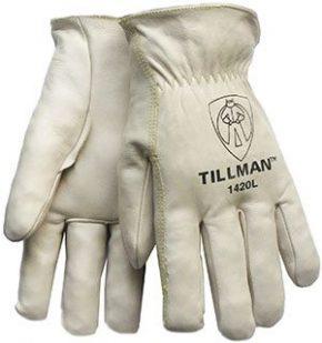 1420 Top-Grain Cowhide Drivers Gloves