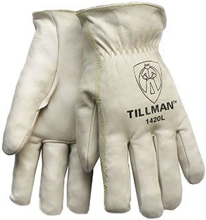 1420 Top-Grain Cowhide Drivers Gloves