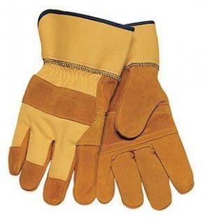 1500YPP Brown Shoulder Split Cowhide Gloves