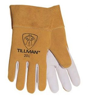 20 Kidskin/Cowhide TIG Welders Gloves