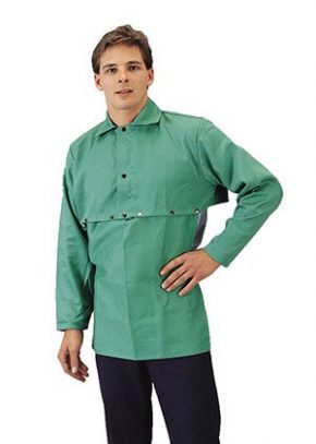 Flame-Retardant Cotton Cape Sleeves and Bib