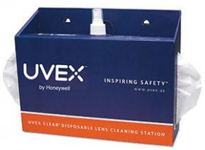 Uvex Clear® Disposable Lens Cleaning Station