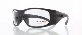 ArmourX Safety Glasses ArmourX 6001 Black-2