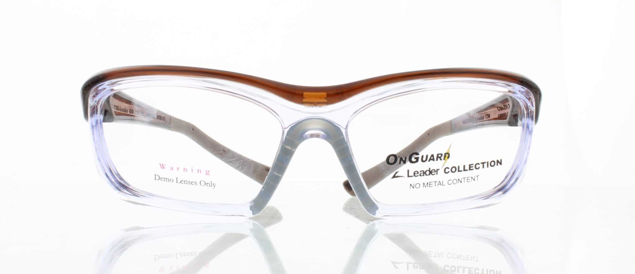 OnGuard Safety Glasses OnGuard 220S Brown-1