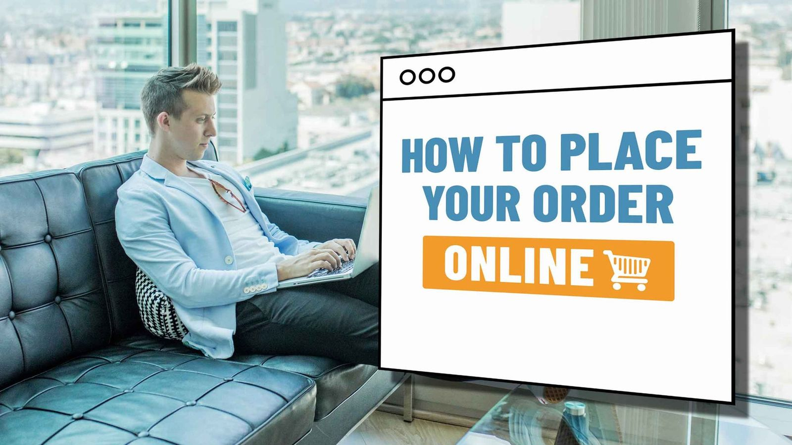 How to Place your Order Online Header
