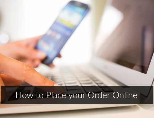 How to Place your Order Online