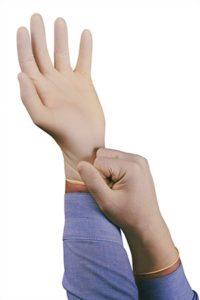 latex gloves, safety gloves
