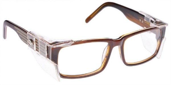 ArmourX Safety Glasses ArmourX 7002- Brown clear