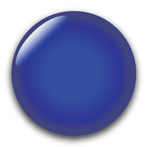 Blue Solid Mirror