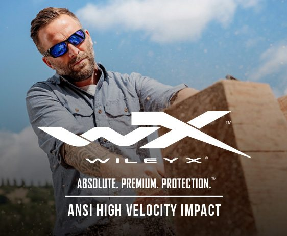 WileyX High Velocity ANSI rated rx glasses