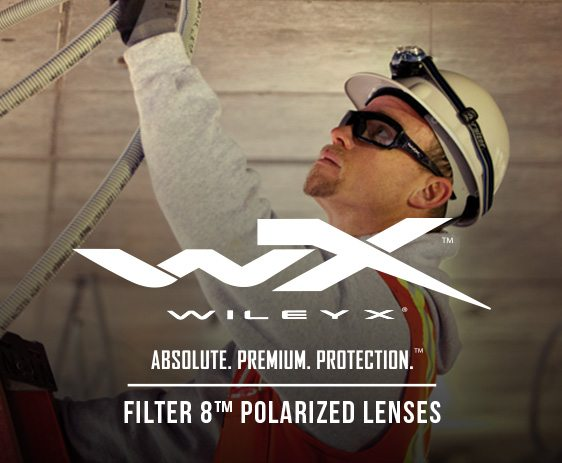 Wiley X Polarized RX safety glasses