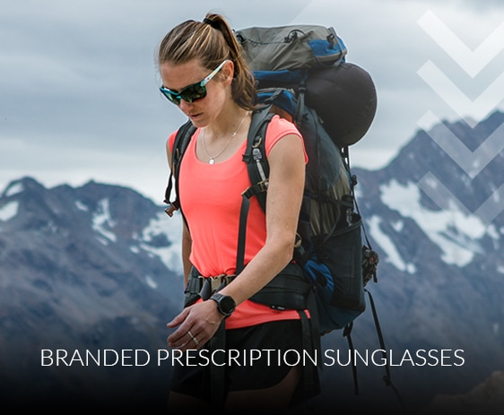 Branded prescription sunglasses