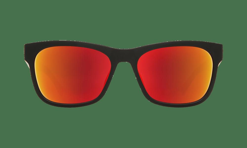 Sundowner Matte Black/Matte Crystal - Gray W/Red Spectra - Image 1