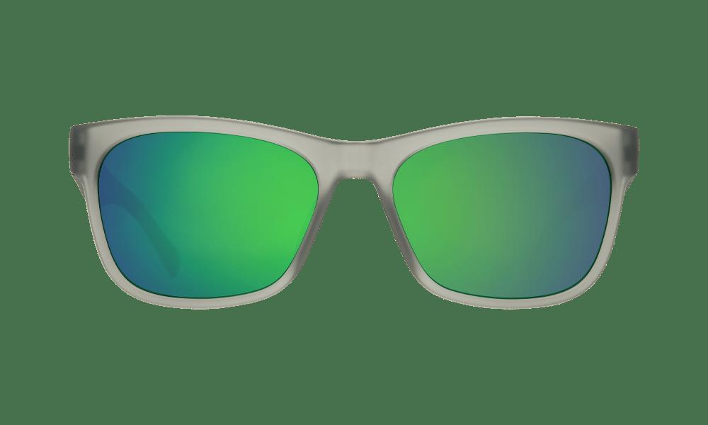 Sundowner Matte Translucent Smoke - Gray W/Green Spectra - Image 1