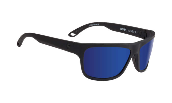 Angler Soft Matte Black - Happy Bronze Polar W/ Dark Blue Spectra - Image 1