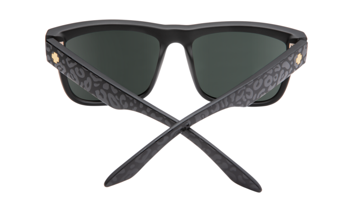 Discord Matte Black Leopard - Happy Gray Green W/silver Flash - Image 1