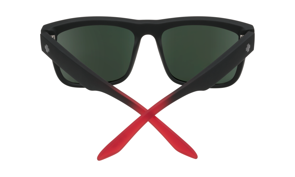 Discord Soft Matte Black/red Fade - Happy Gray Green W/red Flash - Image 1