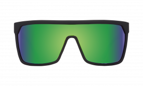 Flynn Matte Black - Happy Bronze W/ Green Spectra - Image 1