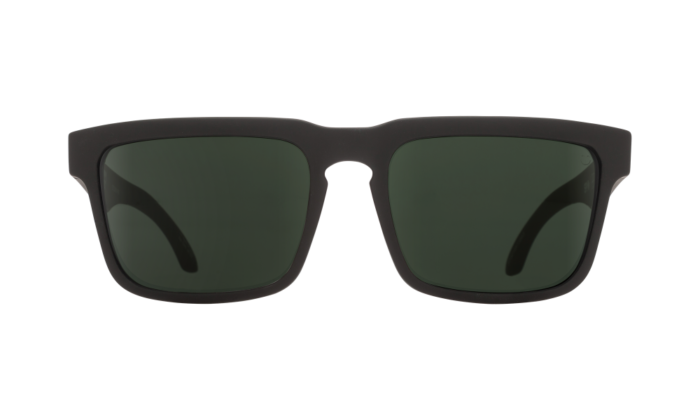 Helm Soft Matte Black - Happy Gray Green Polar - Image 1
