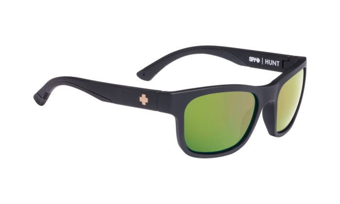 Hunt Matte Black/cork E-jack- Happy Rose Polar W/green Gold Spectra - Image 1