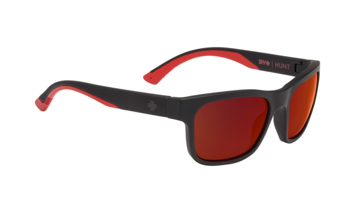 Hunt Matte Black/Red Fade - Happy Gray Green W/Red Flash - Image 1