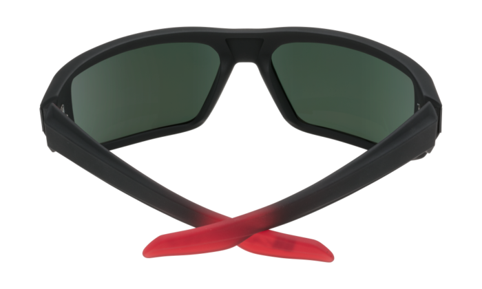 Mccoy Soft Matte Black/red Fade - Happy Gray Green W/red Flash - Image 1