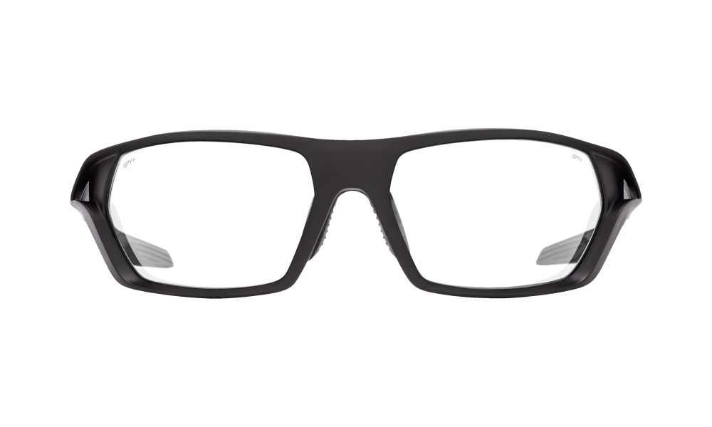 Quanta 2 Matte Black Ansi Rx - Clear - Image 1