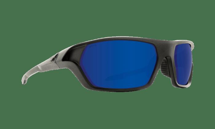 Quanta 2 Matte Graphite Ansi Rx - Happy Bronze W/dark Blue Spectra - Image 1