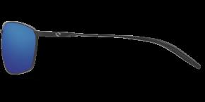 Turret Sunglasses trt11-matte-black-blue-mirror-lens-angle1.png