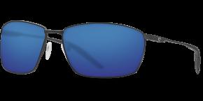 Turret Sunglasses trt11-matte-black-blue-mirror-lens-angle2.png