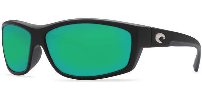Saltbreak Sunglasses bk11-matte-black-green-mirror-lens-angle2.png