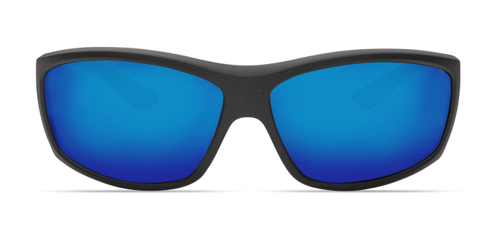 Saltbreak Sunglasses bk188-matte-steel-gray-metallic-blue-mirror-lens-angle3.png