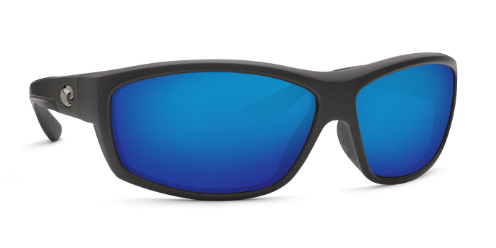 Saltbreak Sunglasses bk188-matte-steel-gray-metallic-blue-mirror-lens-angle4.png
