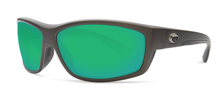 Saltbreak Sunglasses bk188-matte-steel-gray-metallic-green-mirror-lens-angle2.png