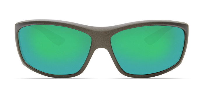 Saltbreak Sunglasses bk188-matte-steel-gray-metallic-green-mirror-lens-angle3.png